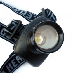 Lampe frontale LED à piles