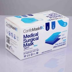Boite de 50 masques chirurgicaux CONFOMASK