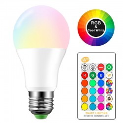 Lampe LED couleur